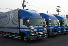 4トントラックドライバー市内ルート配送便 (横浜営業所)