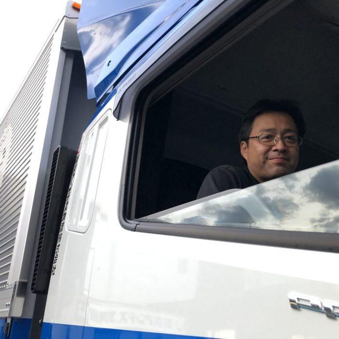 家族が誇れる会社 カゴ台車大型幹線輸送トラックドライバー